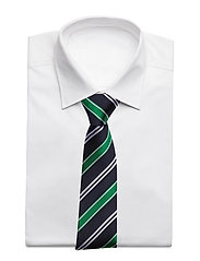 An Ivy - Navy Club Tie - cravates - navy/green/white - 3