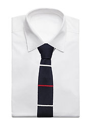 An Ivy - Navy Red White Classic Knit - cravates - navy/white/red - 2