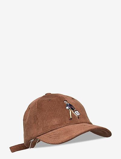 Brown Shopper Corduroy Cap - kasketter - brown