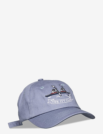 Dusted Blue Rowing Cap - kasketter - blue