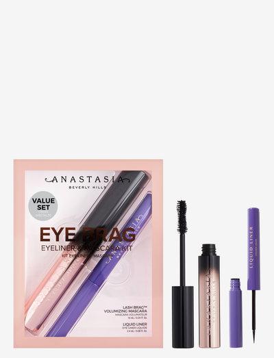 Eye Brag Eyeliner & Mascara Kit - sminkset - black