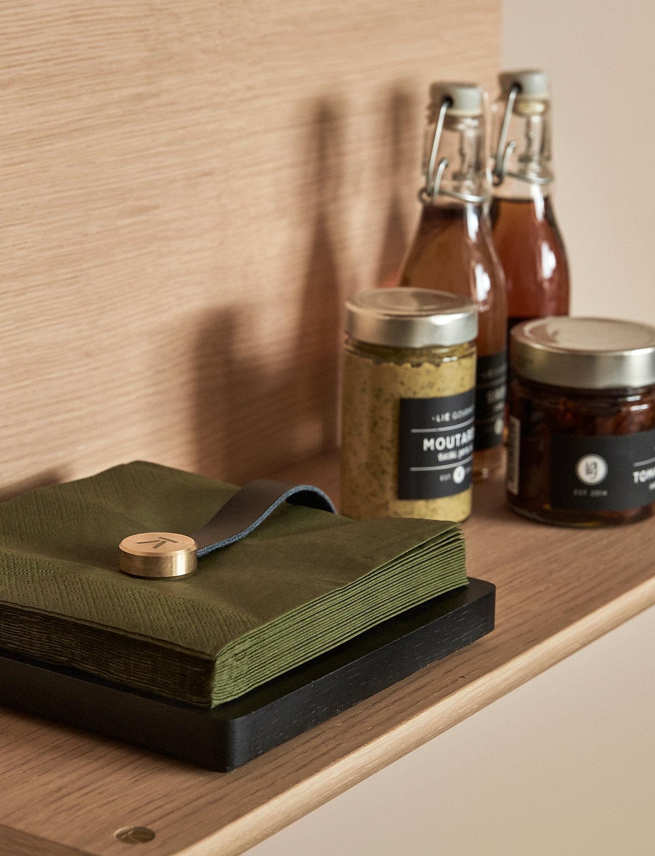 Andersen Furniture - Napkin Holder - serviettringer & serviettholdere - black - 1