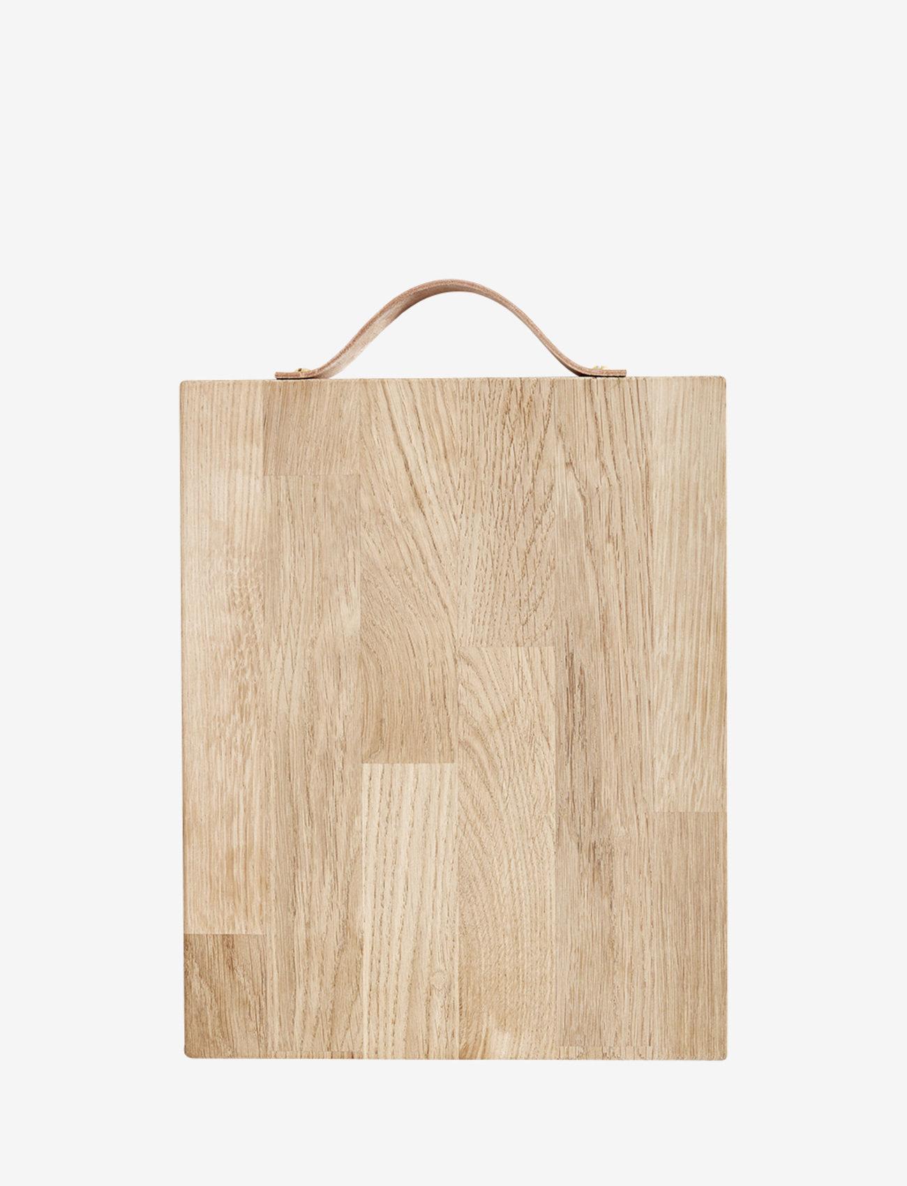 Andersen Furniture - Servingboard w. leather handle - skjærebrett - no color - 0