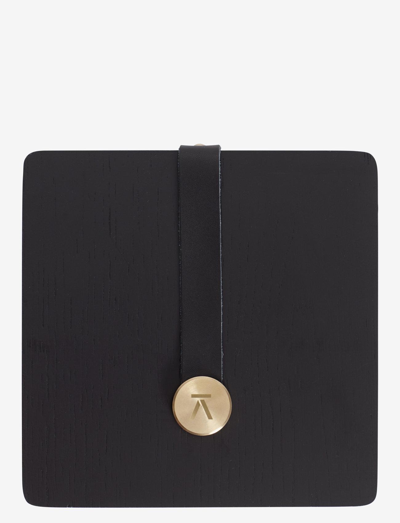 Andersen Furniture - Napkin Holder - serviettringer & serviettholdere - black - 0