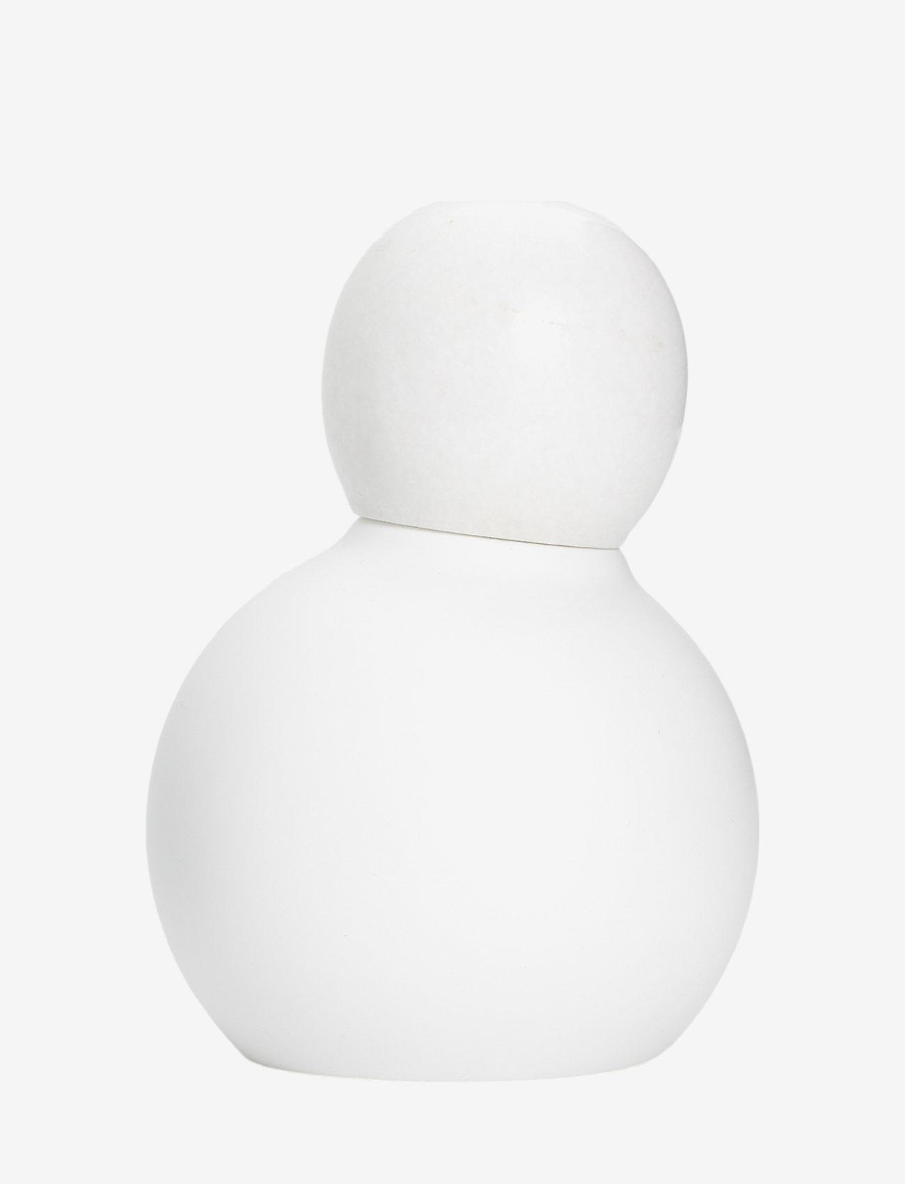 Andersen Furniture - Boogie Salt & Pepper Mill - krydderkvernere - white - 0