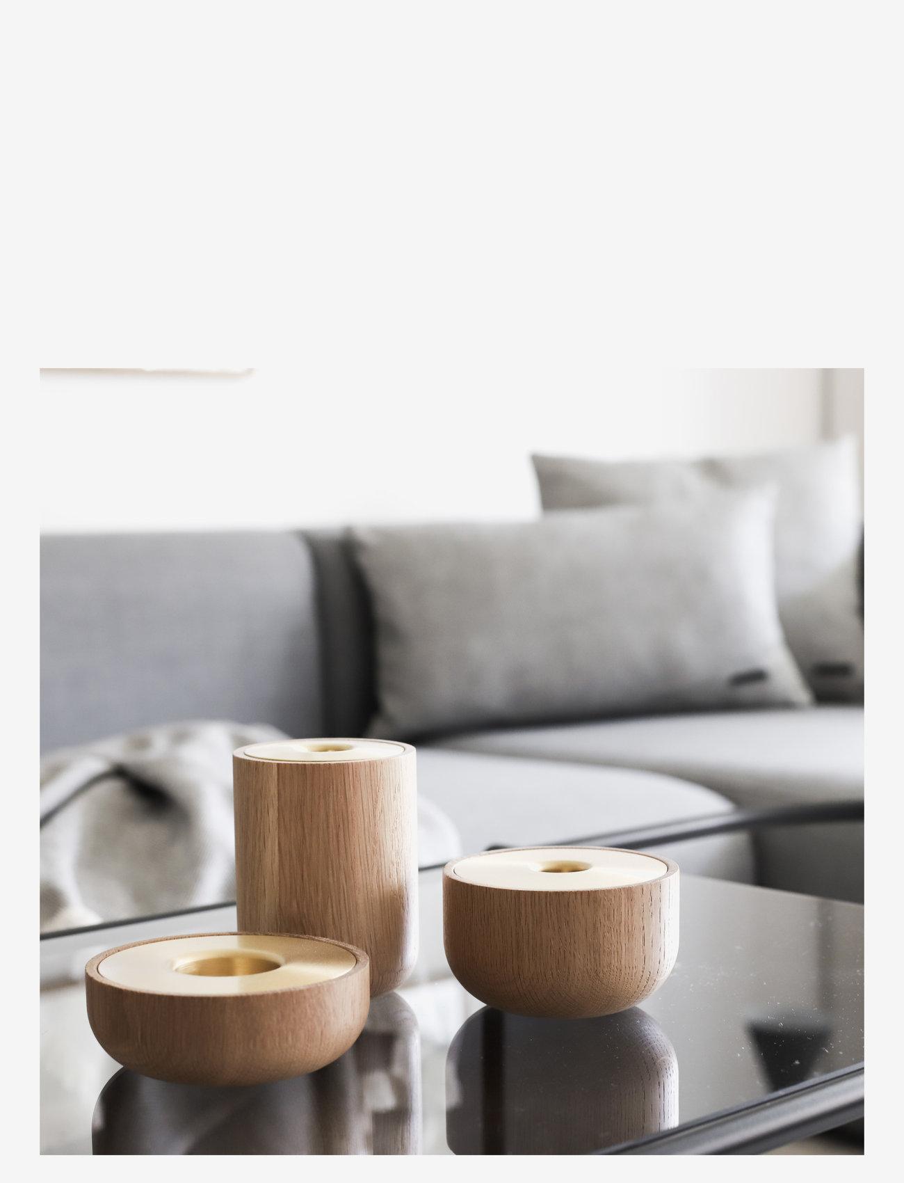 Andersen Furniture - Oak Nordic tea light - lysestaker - no color - 1