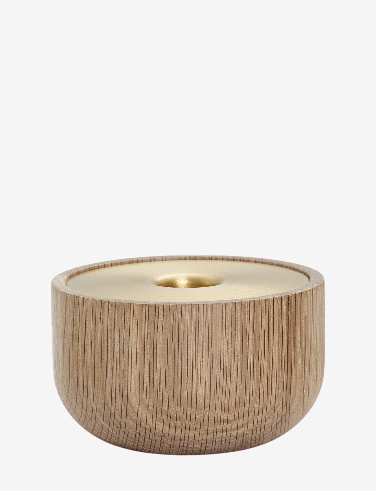 Andersen Furniture - Oak Nordic candle holder - lysestaker - no color - 0