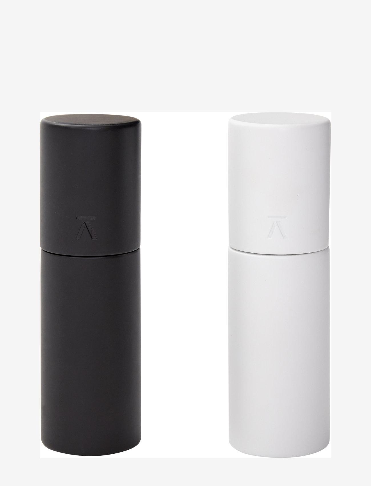 Andersen Furniture - Duo Salt/Pepper Mills (set of 2) - krydderkvernere - white / black - 0
