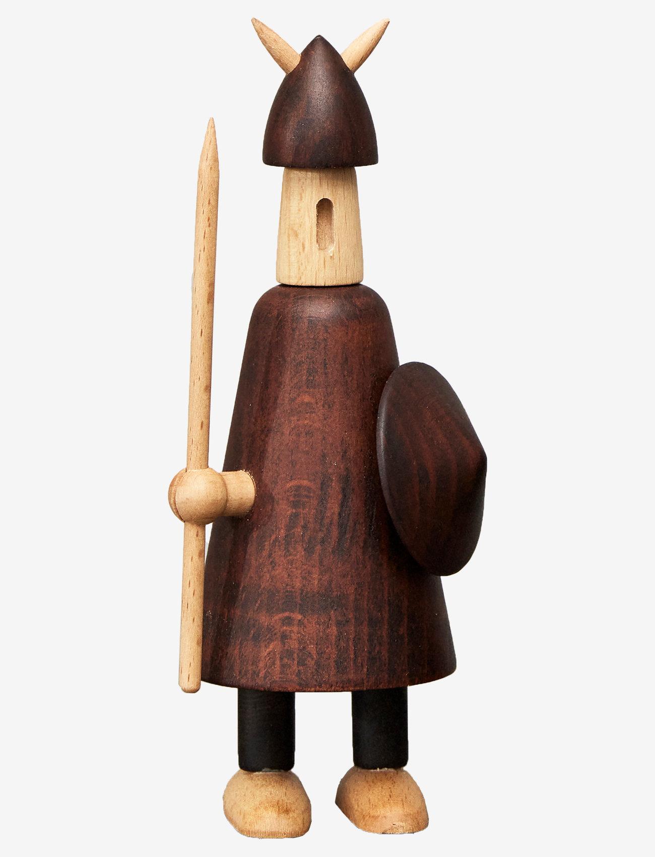 Andersen Furniture - The vikings of Denmark - trefigurer - brown - 0