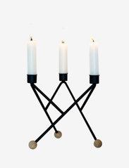 Andersen Furniture - North Star candle holder - lysestaker & stearinlys - black - 0
