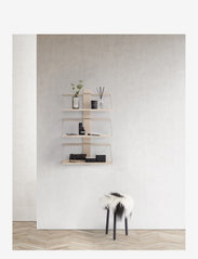 Andersen Furniture - Shelf Wood Wall - hyller & oppbevaring - black - 1