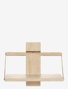 Shelf Wood Wall - hyller & oppbevaring - no color