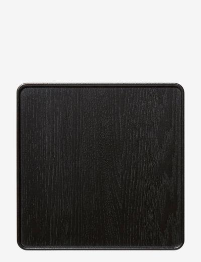 Create me tray - serveringsbrett - black