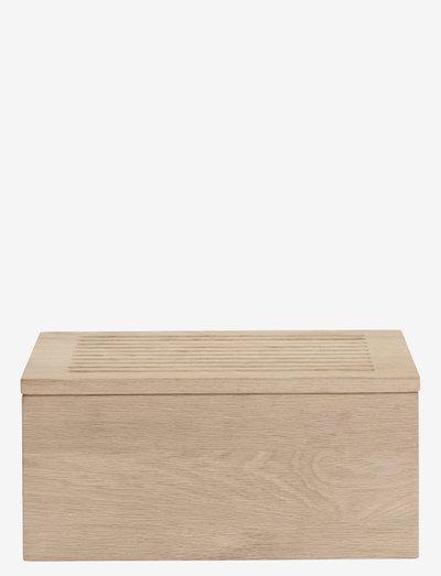 Gourmet Wood Box - brødbokser & brødkurver - no color