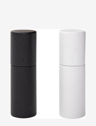 Duo Salt/Pepper Mills (set of 2) - krydderkvernere - white / black