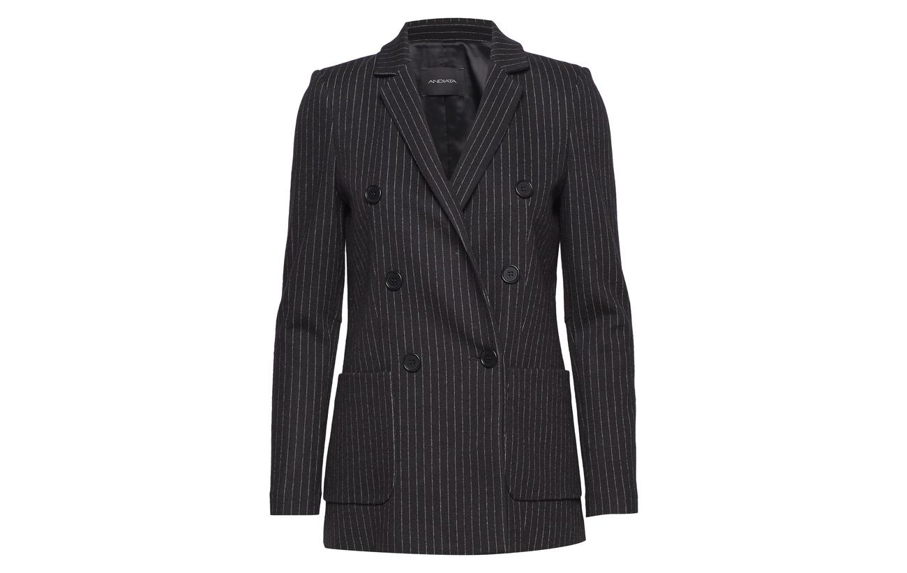 Doublure 18 Blazer 49 30 Polyester Jenner Intérieure Coton Andiata Laine Black 52 51 Polyamide Soft R Équipement Elastomultiester AawqXz