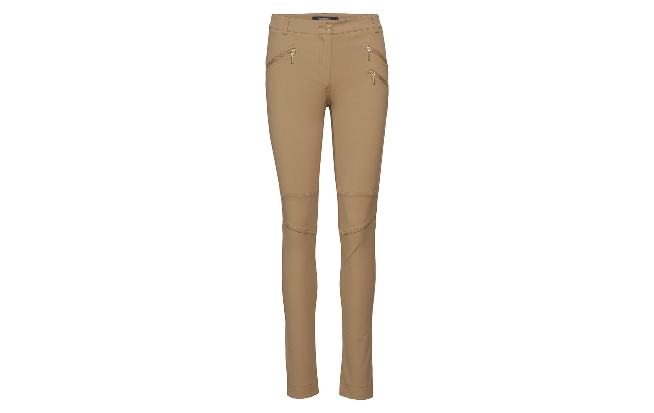 45 3 Coton 10 Wheat Sacha Andiata Polyamide Trousers Beige Elastane Aqggwa