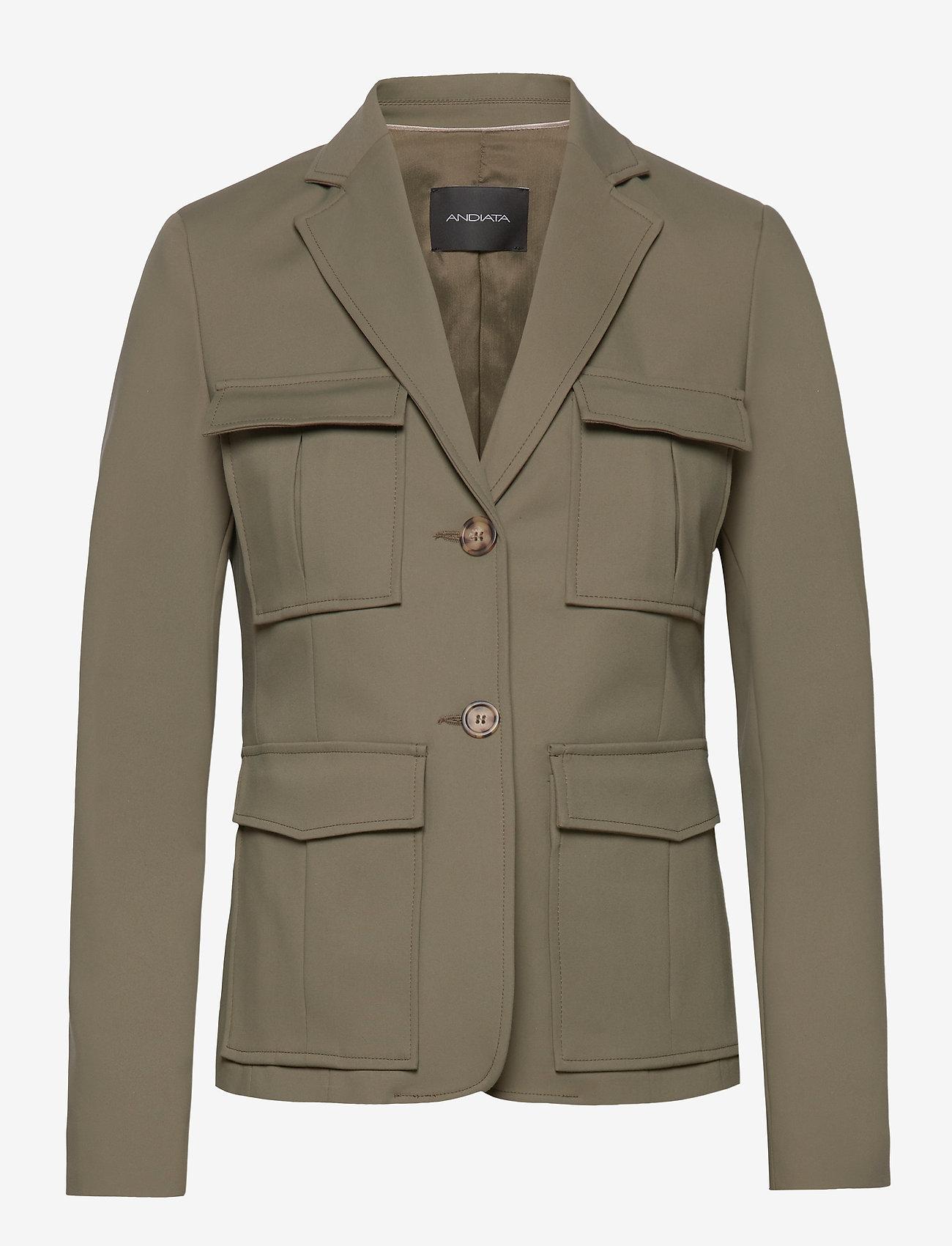 Andiata - CIANA BLAZER - blazers - kalamata green - 1