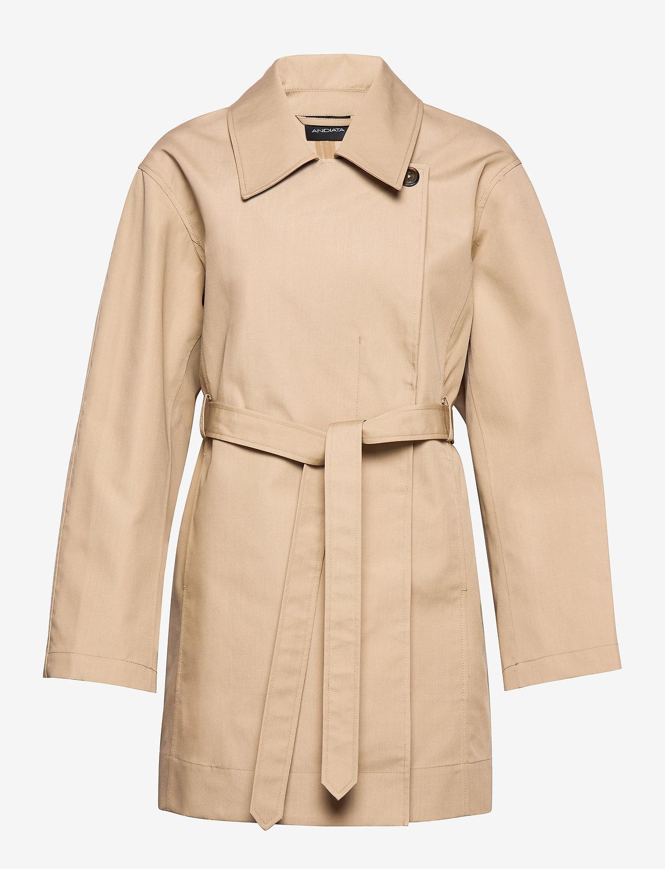 Cotelin Coat (Sand Beige) (221.40 €) - Andiata ZjtvP