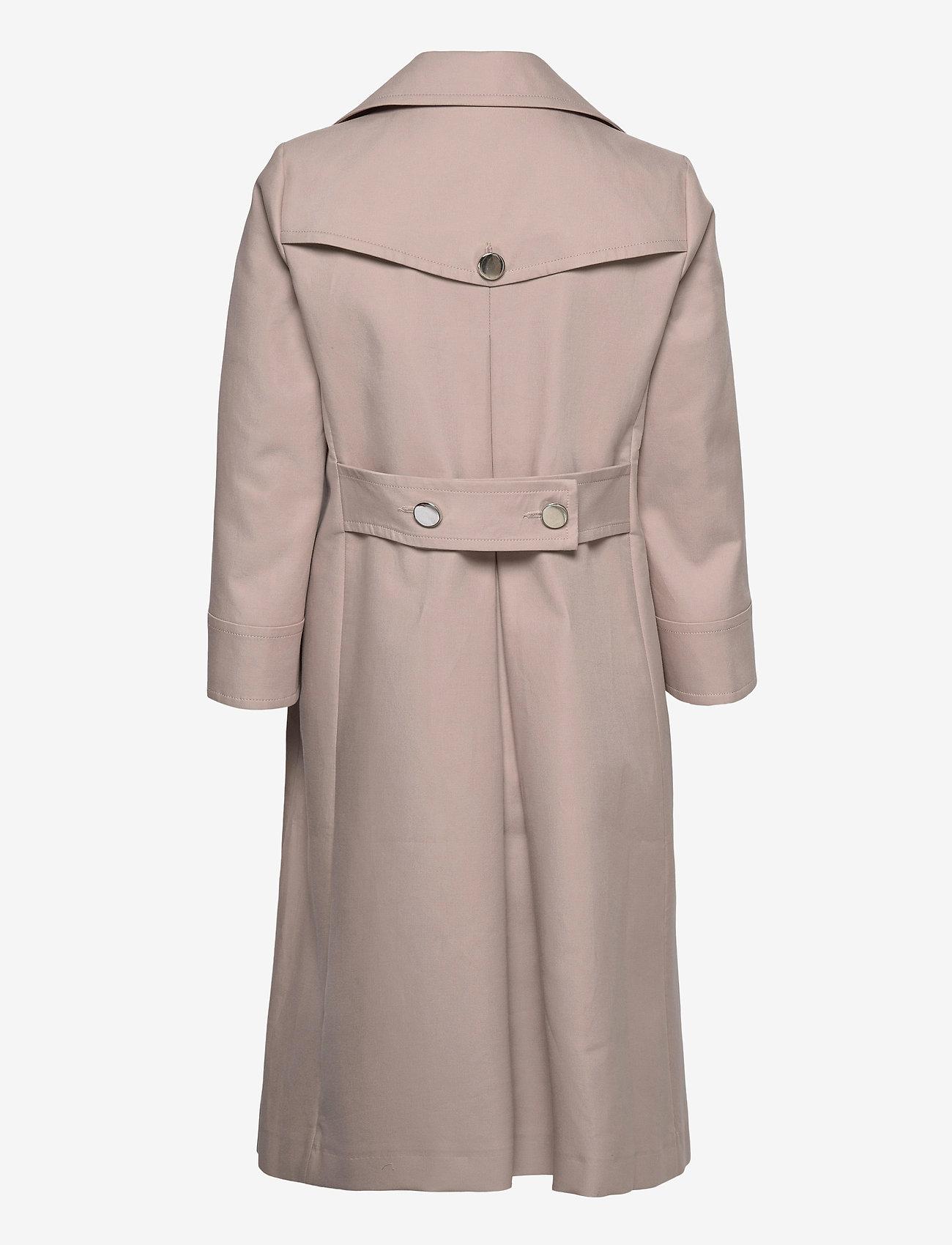 Andiata - Drina 2 Coat - trenchcoats - sand beige - 1