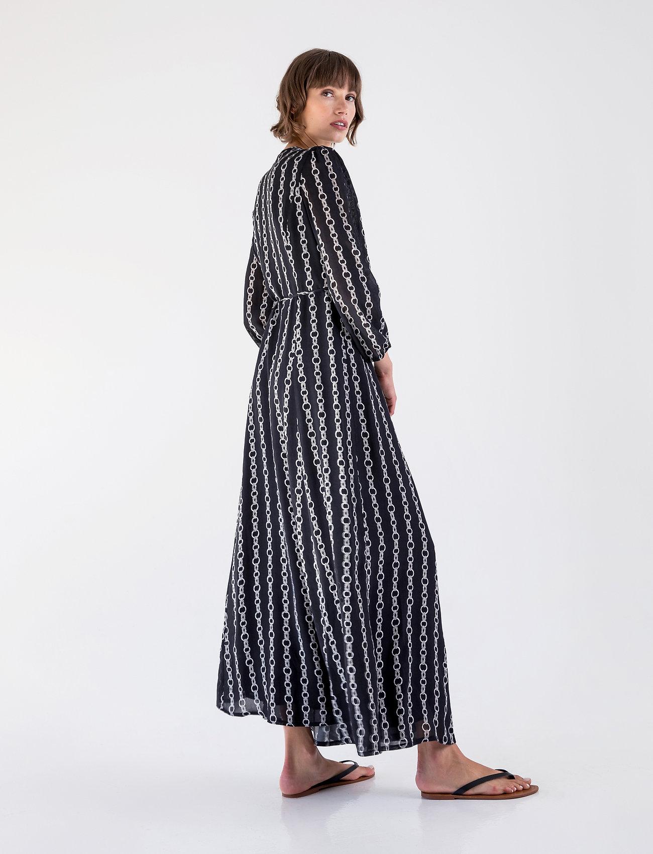 Andiata CALYNDA 2 DRESS - Sukienki BLACK PRINT - Kobiety Odzież.