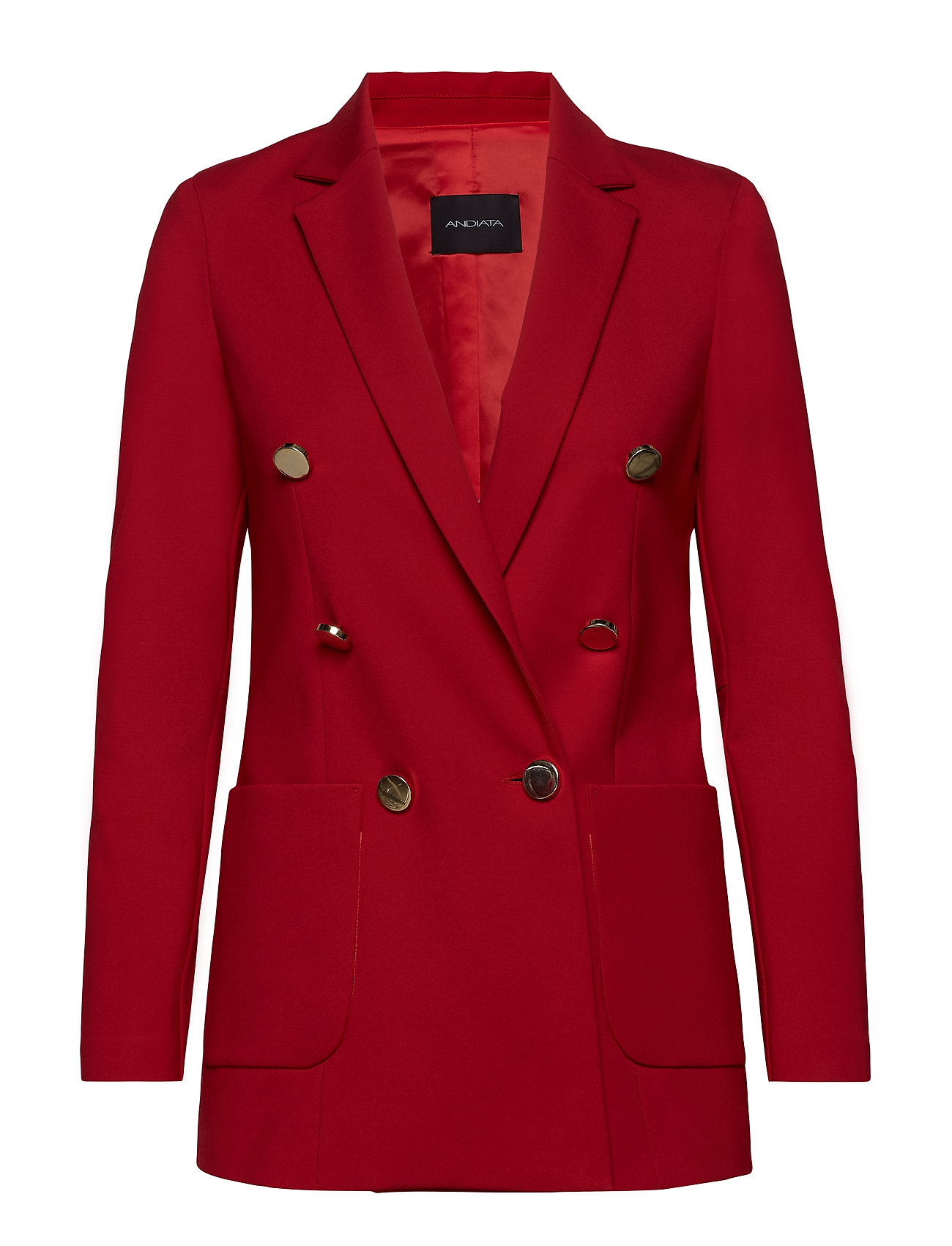 Andiata JENNER BLAZER - POPPY RED