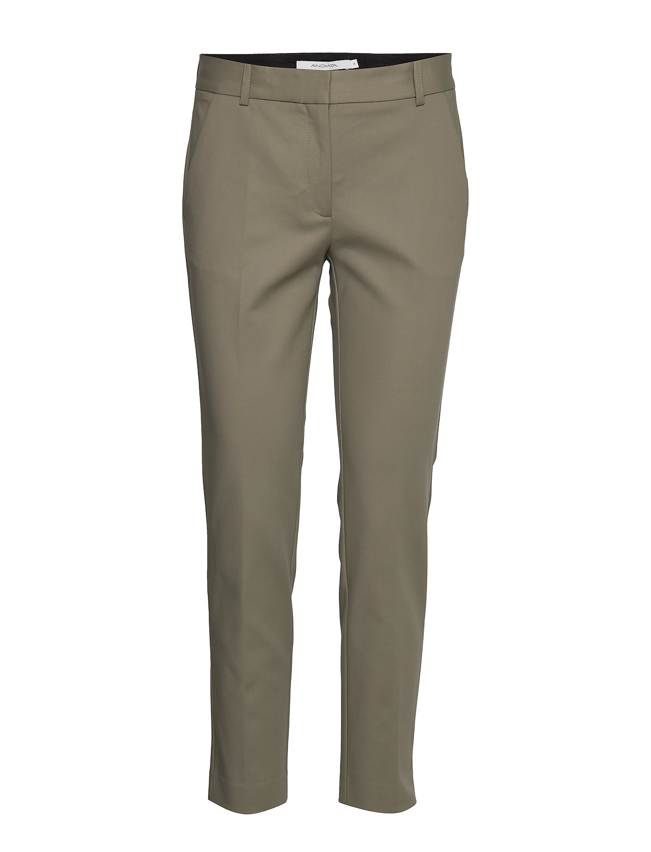 Image of Jamy Trousers Chinos Bukser Grøn Andiata (3339884209)