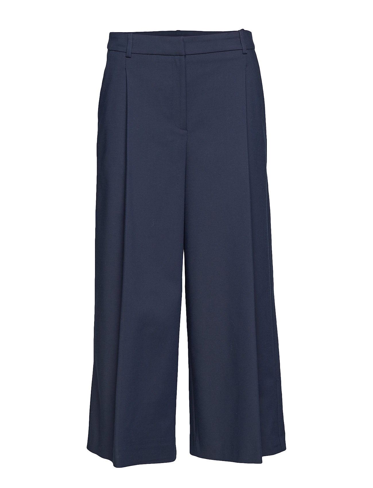 Image of Lucan Wide Trousers Vide Bukser Blå Andiata (3110520219)