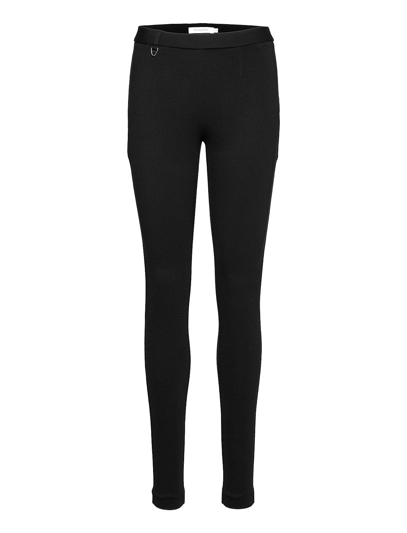 Nomi V Trousers Leggings Sort Andiata