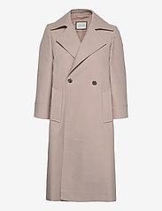 Andiata - Drina 2 Coat - trenchcoats - sand beige - 0
