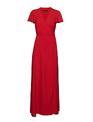 KRISHNA 2 DRESS - POPPY RED