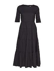 MAELYNN LONG DRESS - JET BLACK