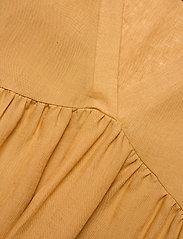 Andiata - Adabella Linen Dress - sundried oak brown - 2