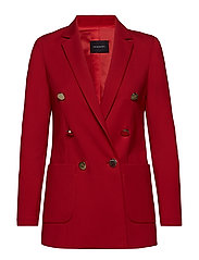 JENNER BLAZER - POPPY RED