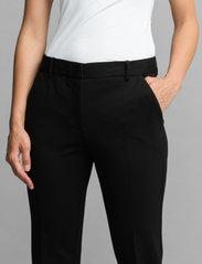 Andiata - Jamy Jersey Trousers - slim fit bukser - black - 4