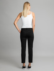 Andiata - Jamy Jersey Trousers - slim fit bukser - black - 5