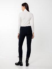 Andiata - Sacha 3 Trousers - broeken med skinny fit - dark navy - 4