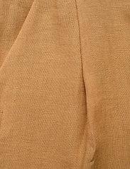Andiata - Kamille Linen Trousers - pantalons droits - sundried oak brown - 2