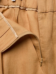 Andiata - Kamille Linen Trousers - pantalons droits - sundried oak brown - 3