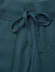 Andiata - Christie knit joggers - sweatpants - teal green - 6