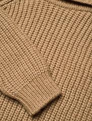 Andiata - BENETTE KNIT - turtlenecks - beige - 5