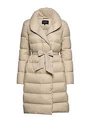 Lumi Down Coat - BEIGE