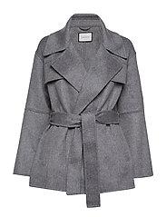 Andiata Seelia Coat - STEEL GREY