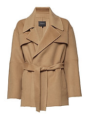 Seelia Coat - WHEAT BEIGE