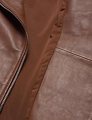 Andiata - Josita Leather Jacket - skinnjackor - cinnamon brown - 7