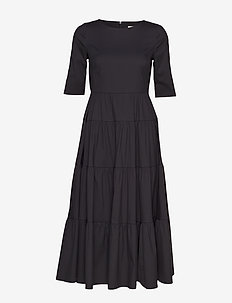 MAELYNN LONG DRESS - JET BLACK