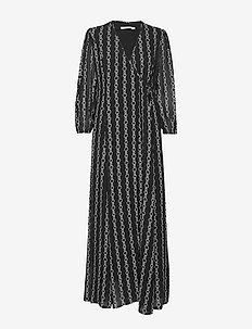 CALYNDA 2 DRESS - BLACK PRINT