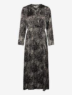 MEY 2 DRESS - kietaisumekot - black print