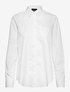 NICCI SHIRT - PRISTINE WHITE