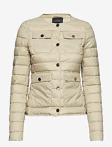 Säde Down Blazer - WHEAT BEIGE